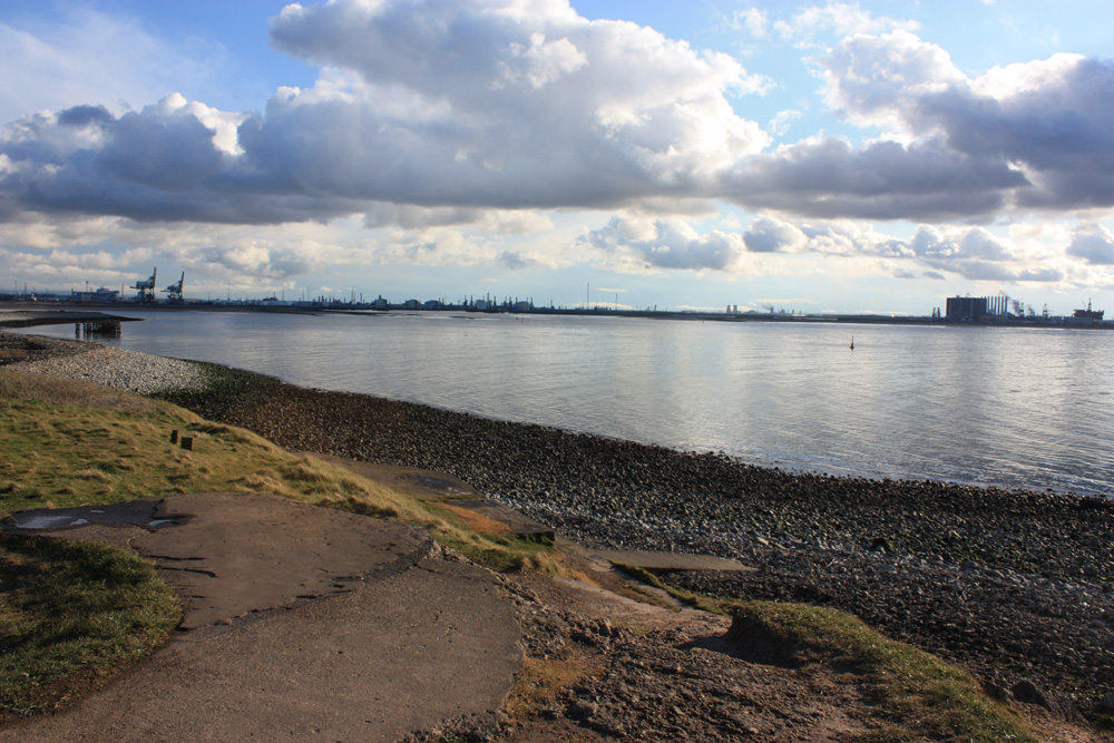 Mouth of the Tees, South Gare