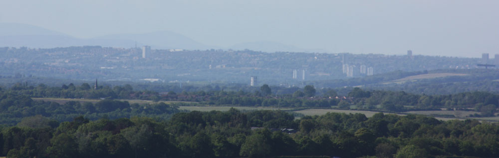 View from Sherburn Hill