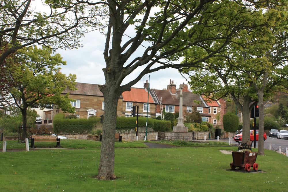 Old village green Skelton