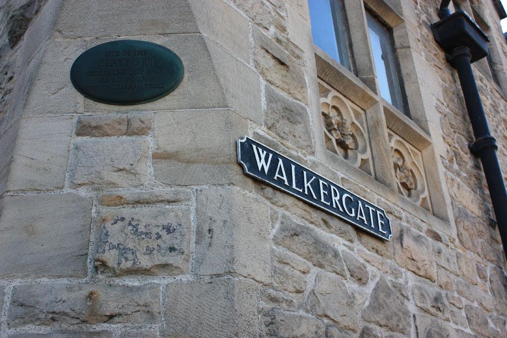 Walkergate, Clayport Gate site, Durham