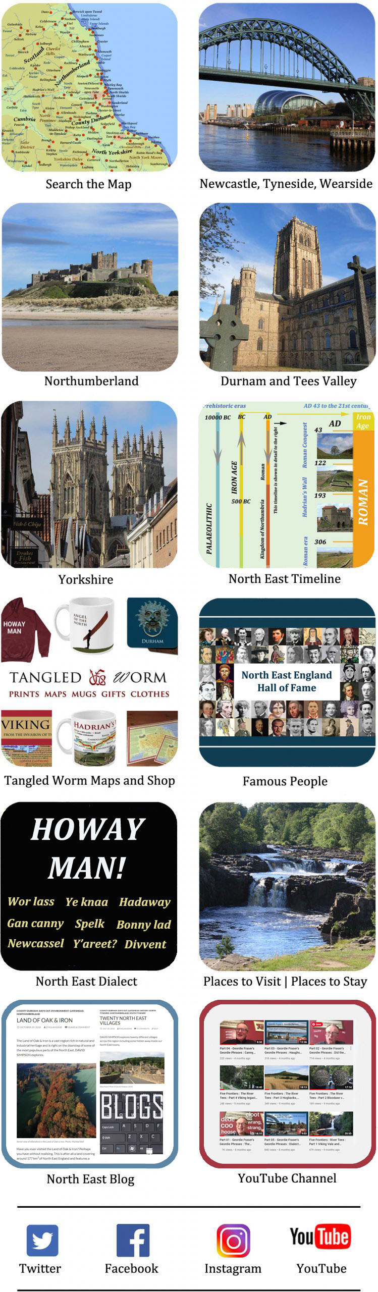 North East History and Culture