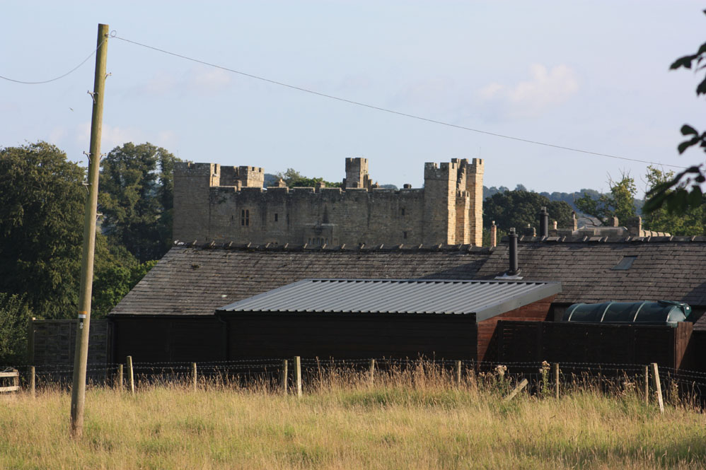 Haughton Castle as seen from Barrasford