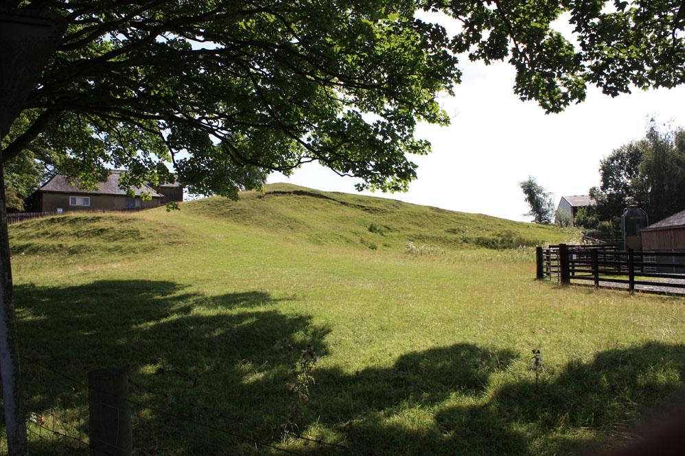 Mound of Bellingham Castle