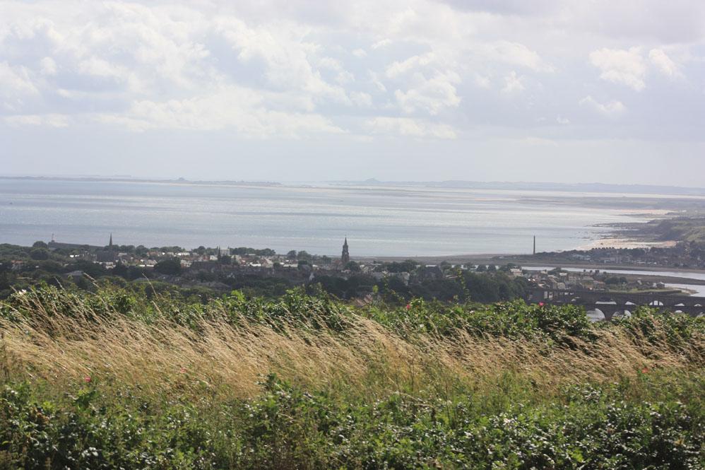 View of Berwick from Halidon Hill