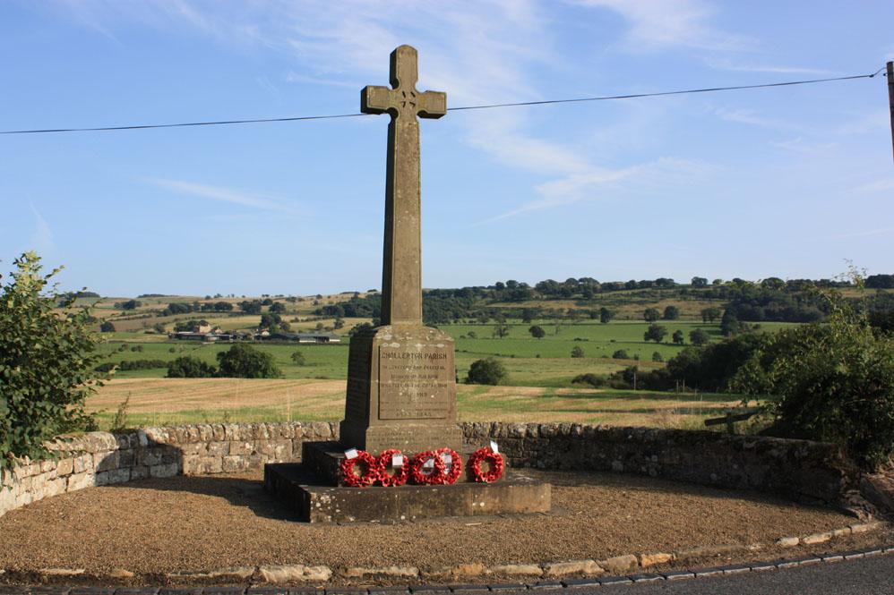 War memorial at Chollerton
