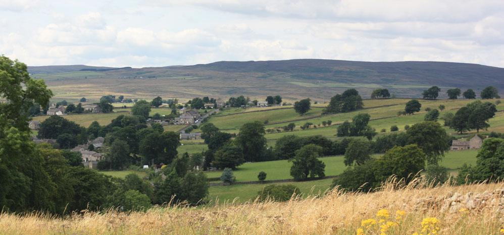 Eggleston village