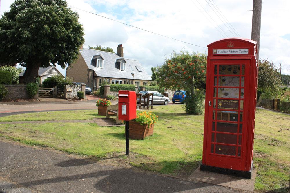 Flodden Visitor Centre, Branxton village