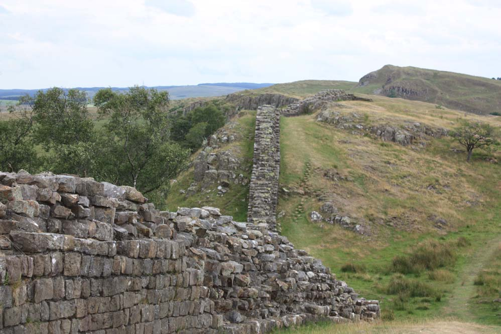 Hadrian's Wall near Carvoran