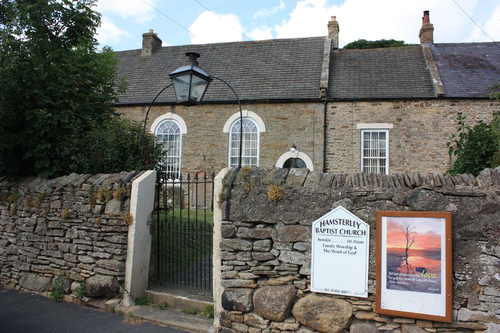 Baptist Chapel, Hamsterley