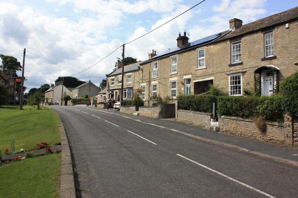 Hamsterley village, County Durham