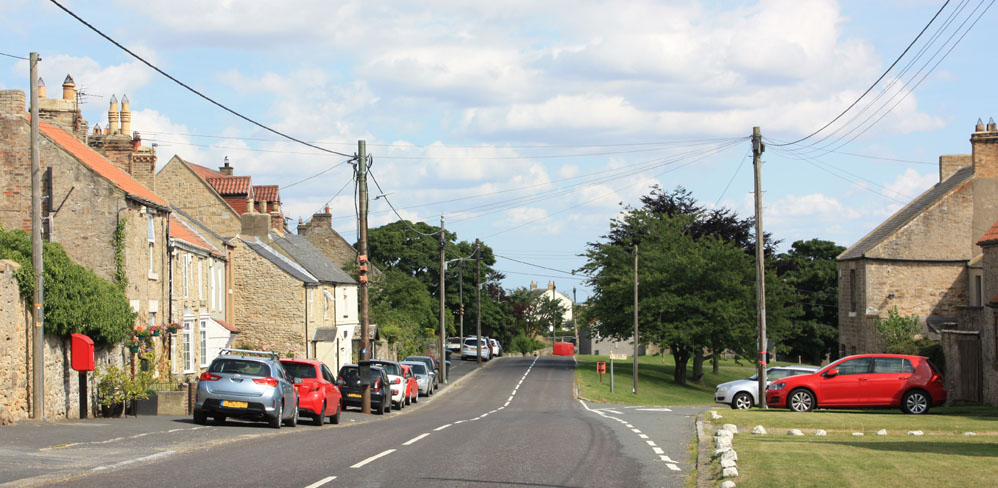 Hamsterley village