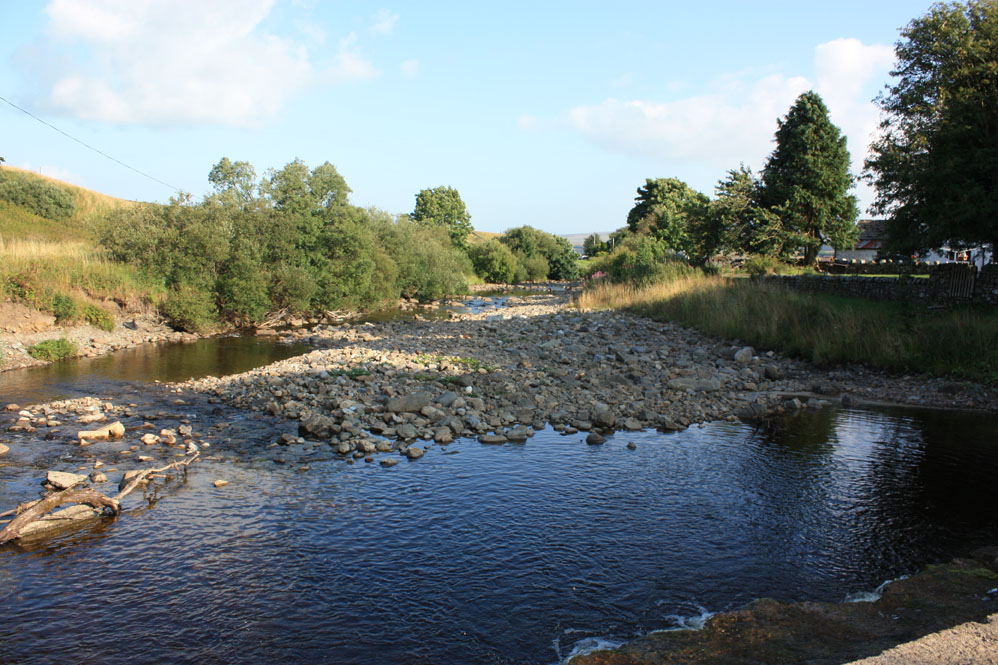 Harwood Beck near Cows Green, Teesdale