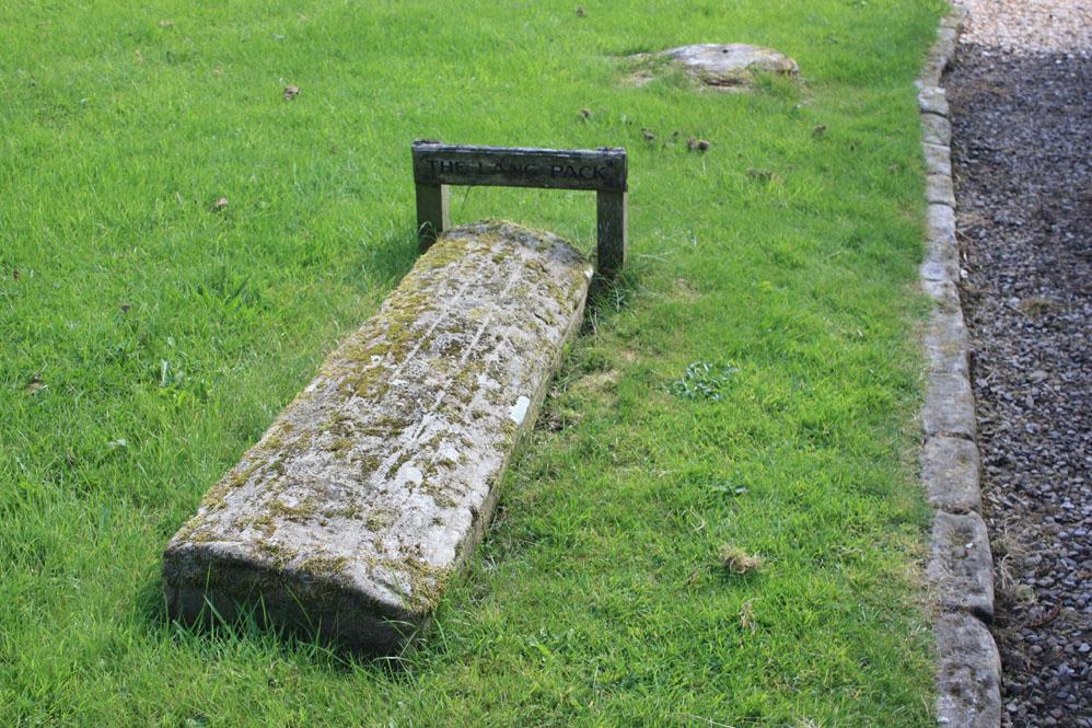 The Lang Pack grave, Bellingham