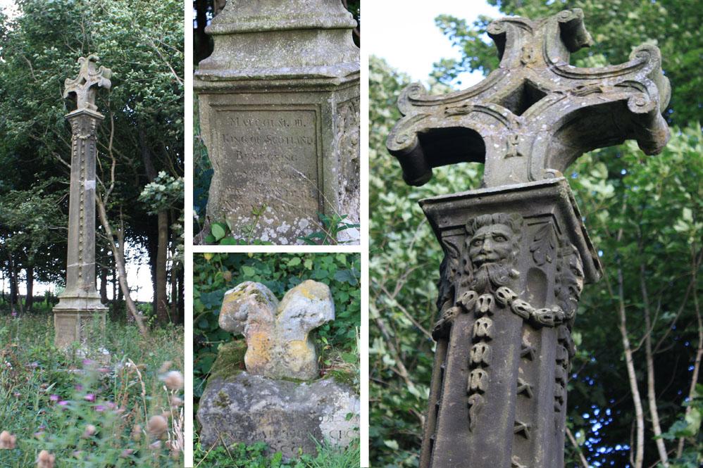 Malcolm's Cross near Alnwick