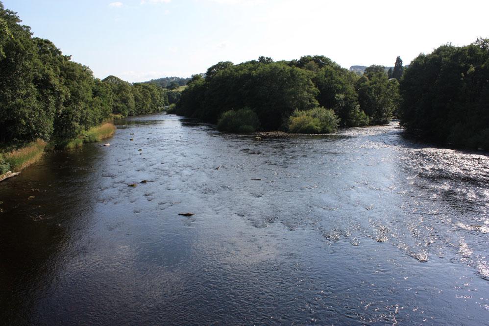 The River North Tyne at Wark