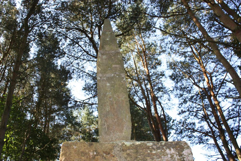 Percy's Cross on the batttlefield site