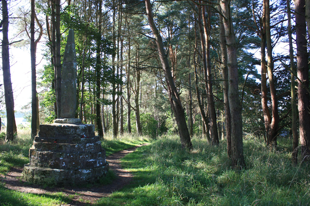 Percy's Cross on the Otterburn battlefield site