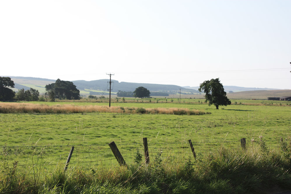 Redesdale scene from Otterburn village