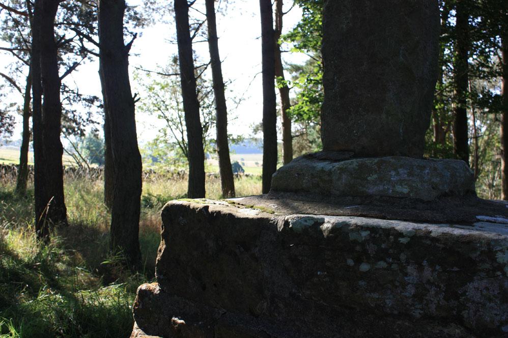 Percy's Cross on the Otterburn batttlefield site