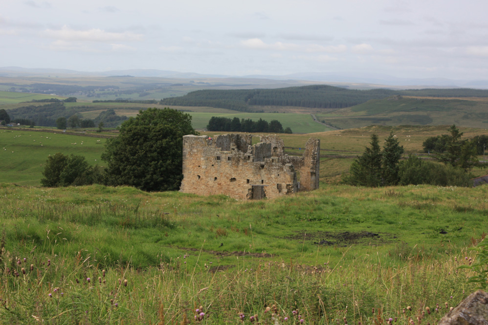 Remains of Ridsdale iron works