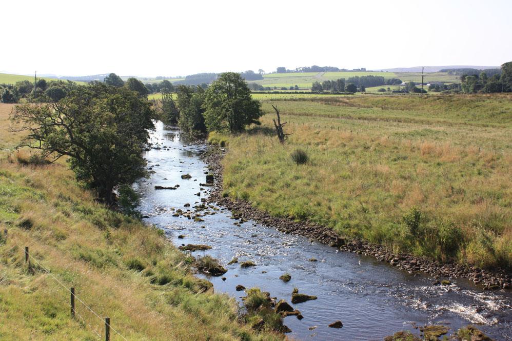 River Rede near Elishaw