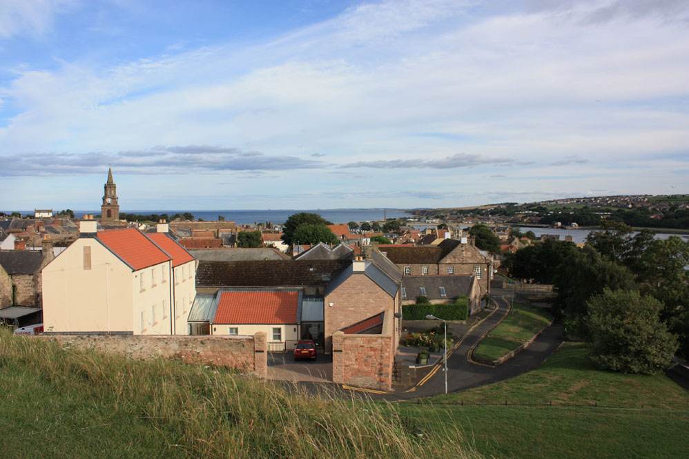 Berwick and the mouth of the Tweed