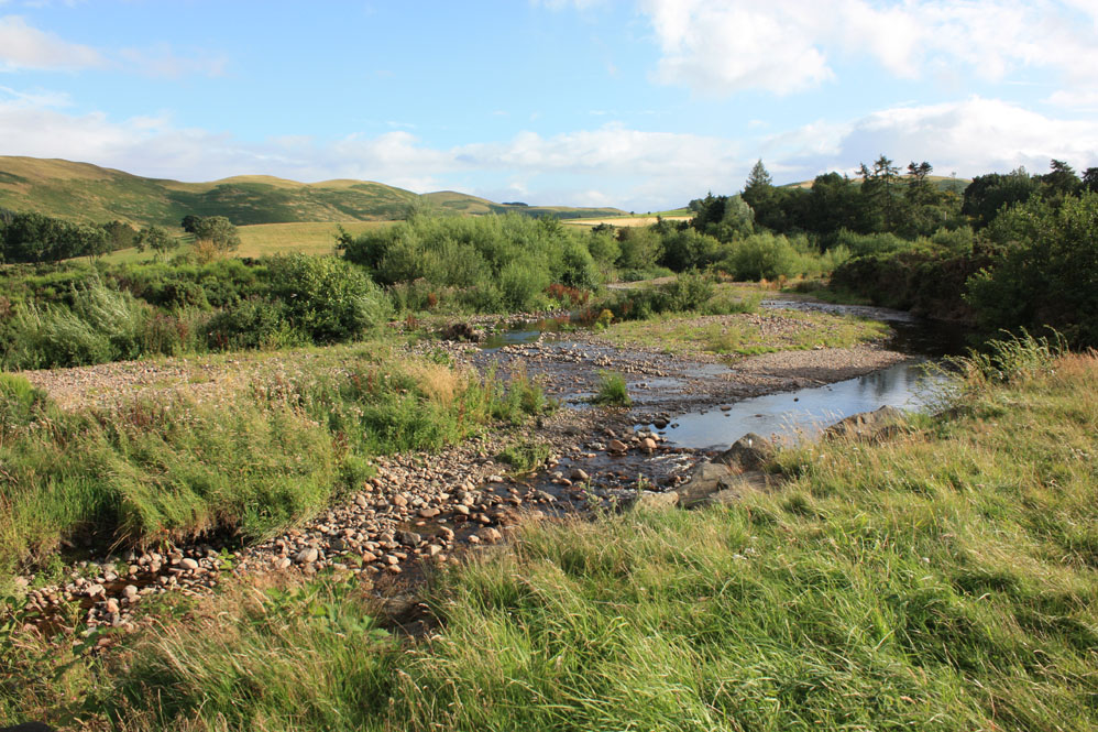 A rocky River Breamish