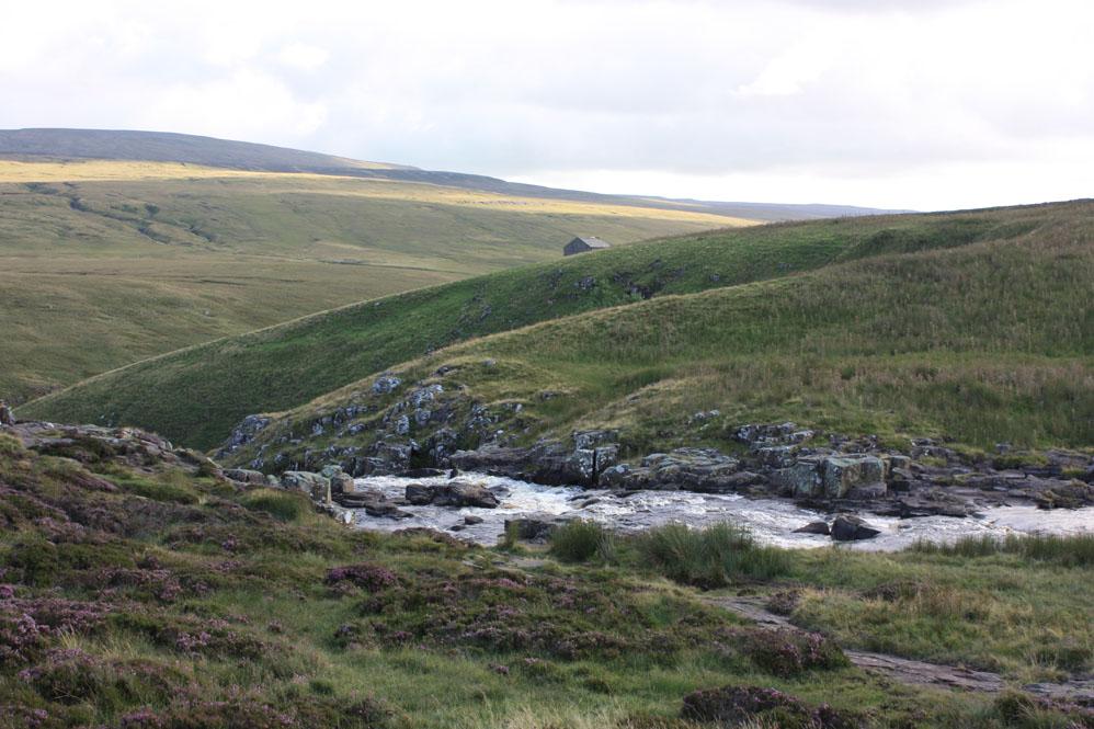 Towards Cauldron Snout near Cow Gree