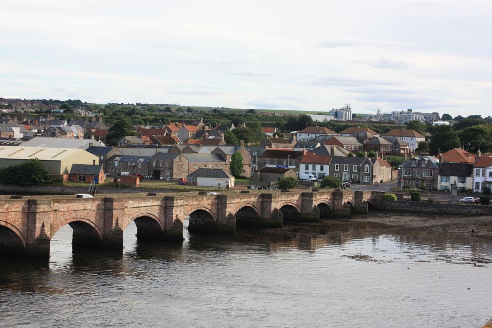 Berwick Bridge and Tweedmouth