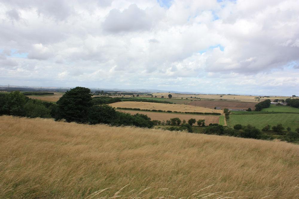 View from Flodden battlefield