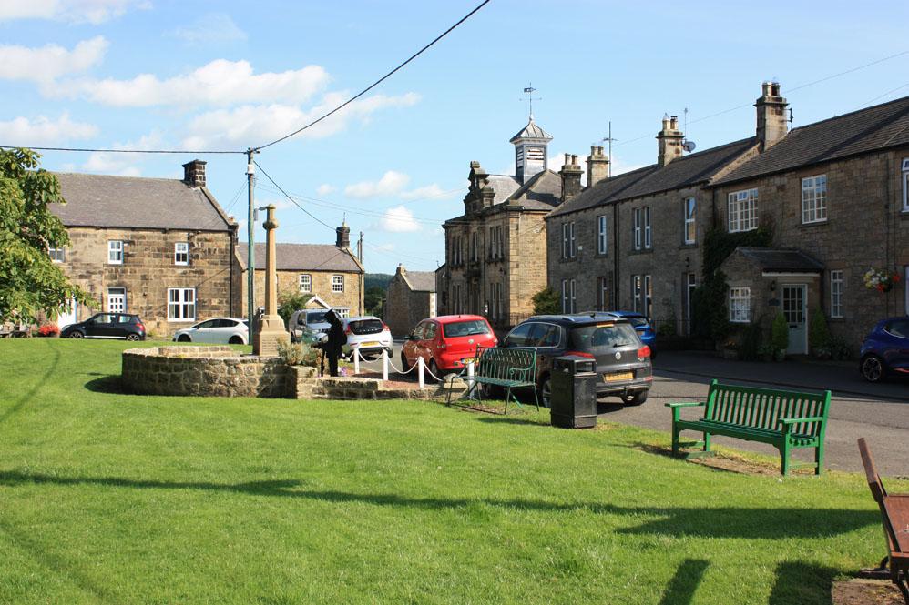 Wark on Tyne village