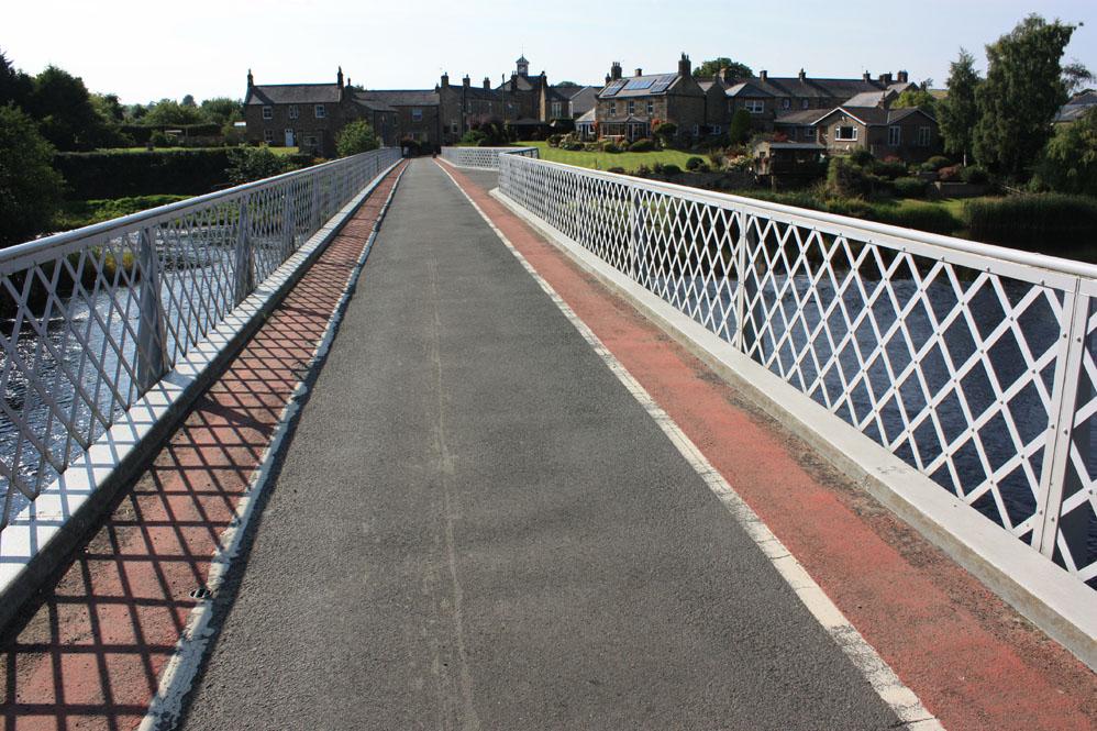 Bridge across the North Tyne at Wark