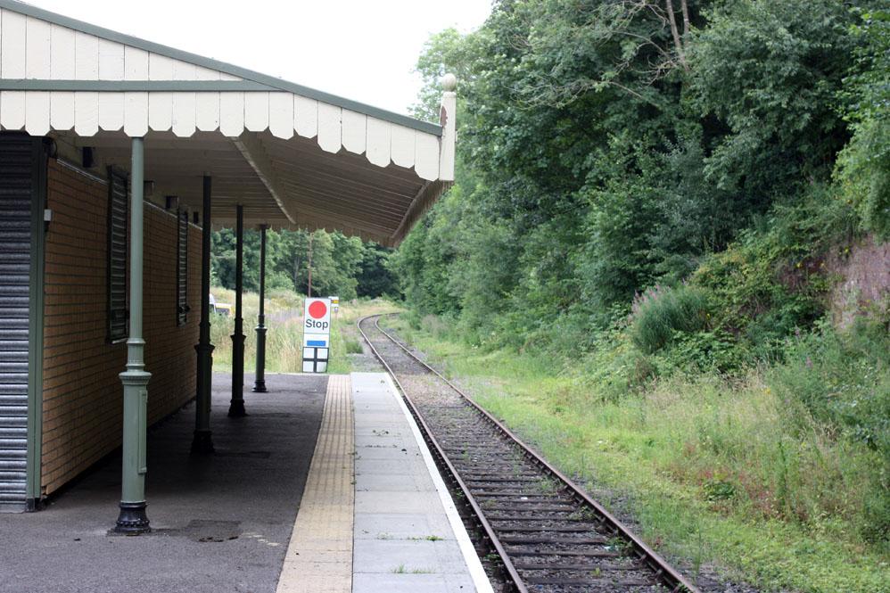 Wolsingham Station on the Weardale Railway