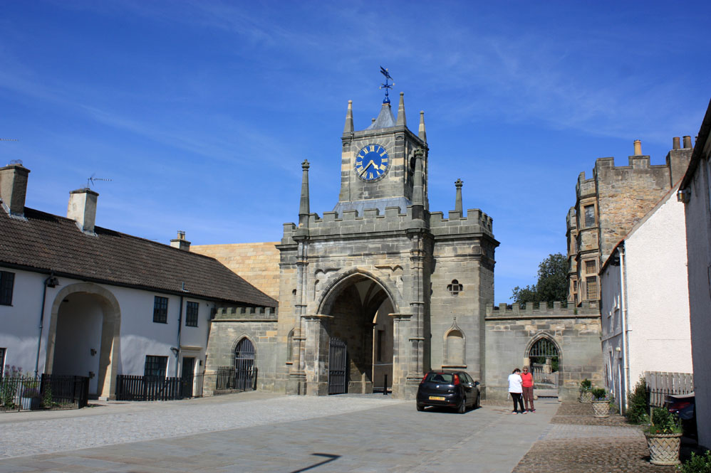 Gateway to the castle Bishop Auckland