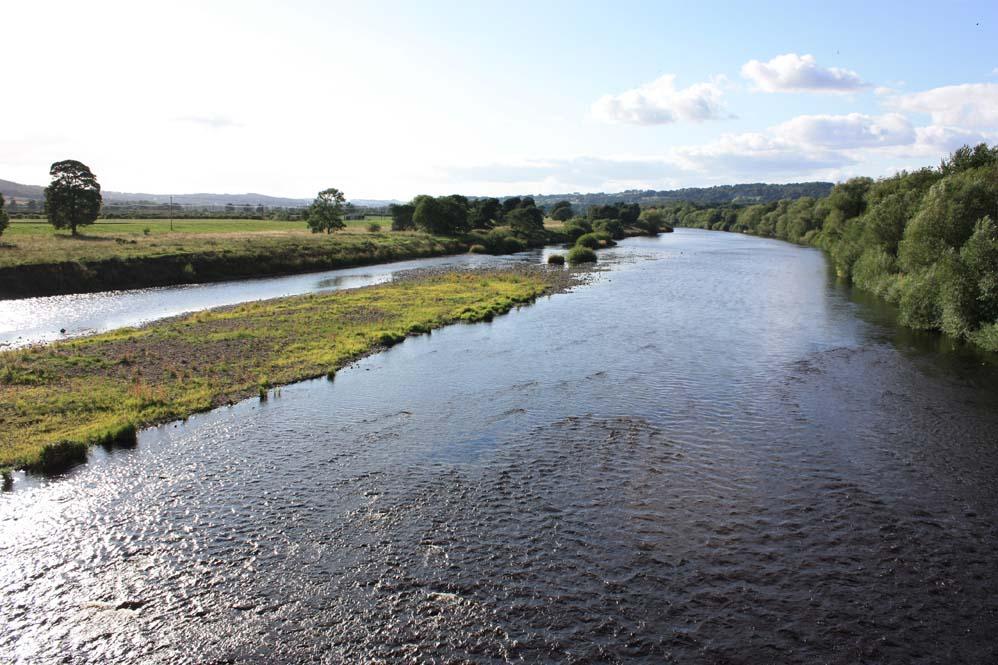 The River Tyne at Corbridge