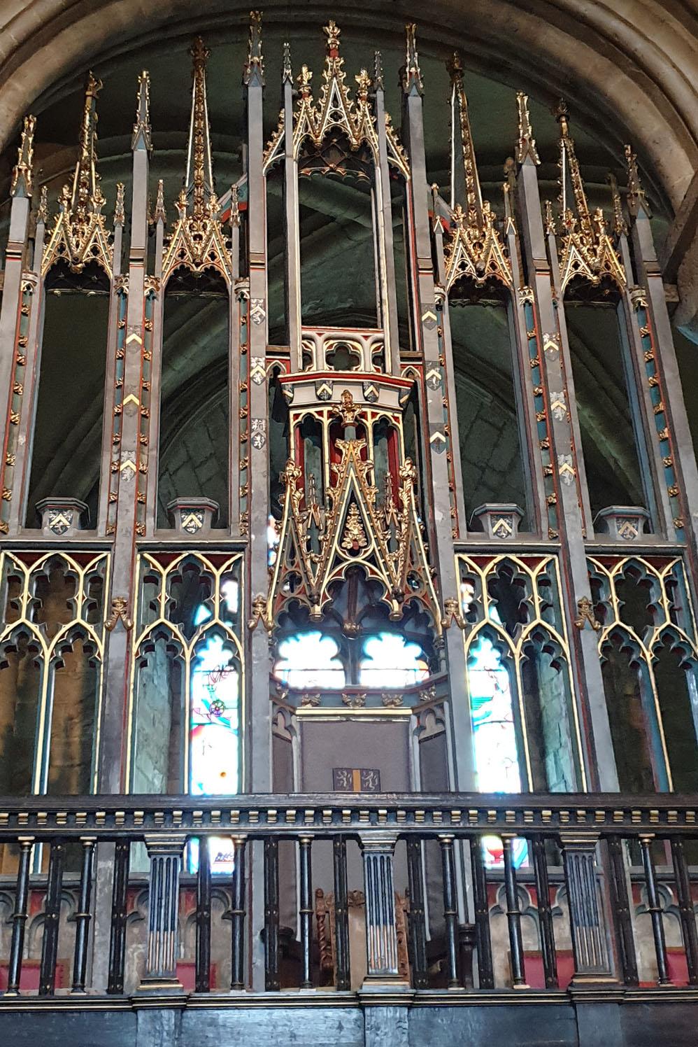 Bishop's Throne, Durham Cathedral