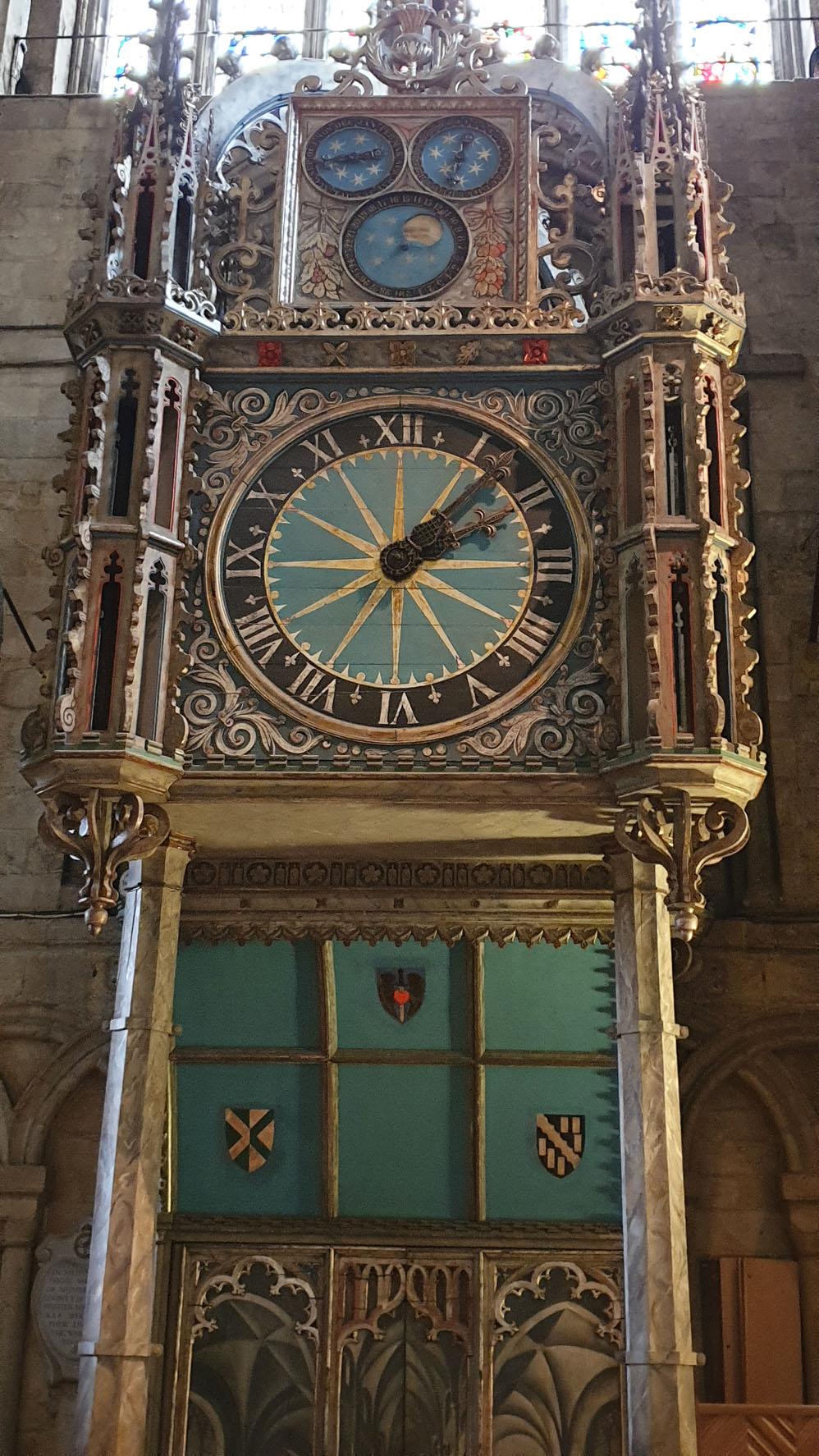 Durham Cathedral clock