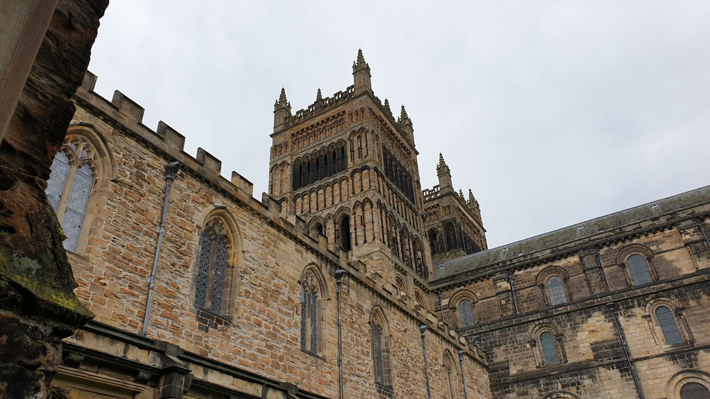 Durham Cathedral Cloisters and western towers