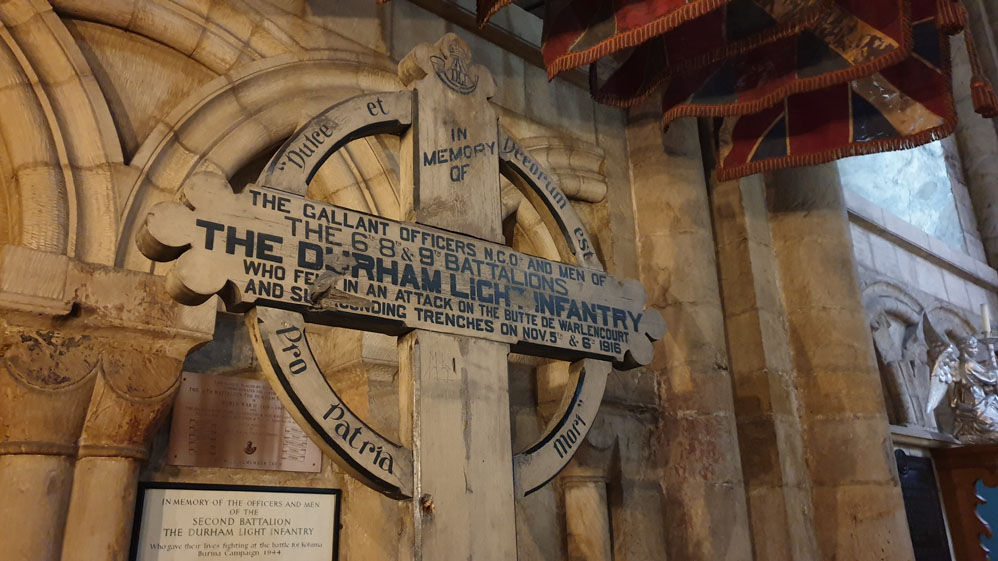 Durham Light Infantry Chapel, Durham Cathedral