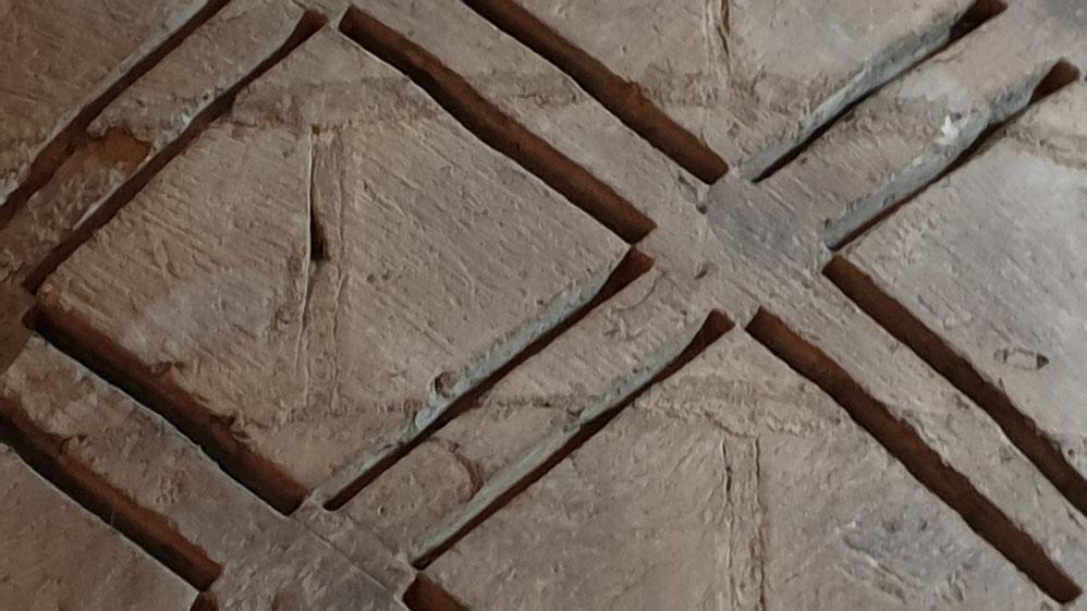 Lozenge pattern Durham Cathedral