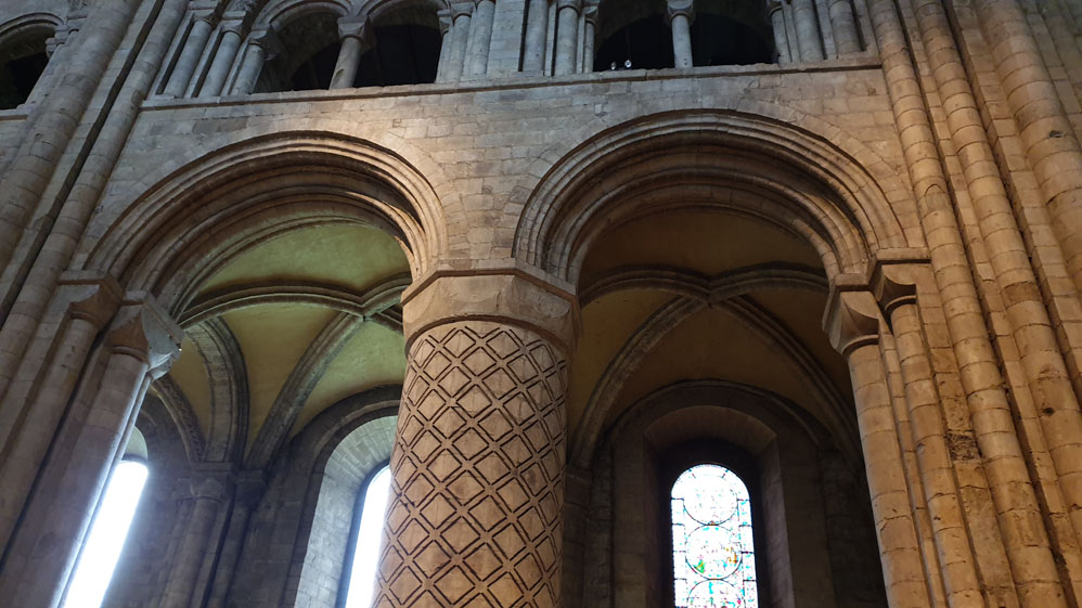 Decorated Durham Cathedral