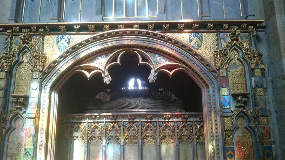Tomb of Bishop Hatfield, Durham Cathedral