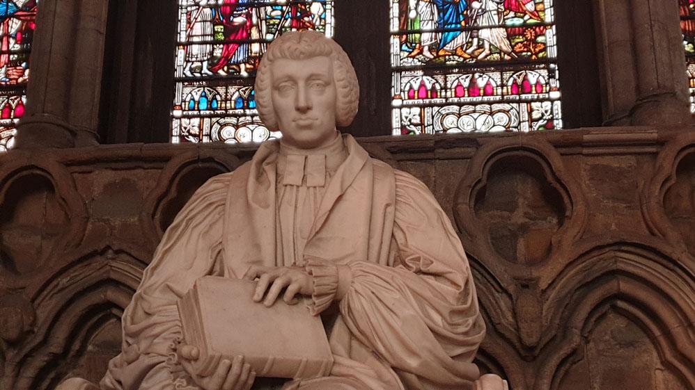Statue of Bishop William Van Mildert, Durham Cathedral