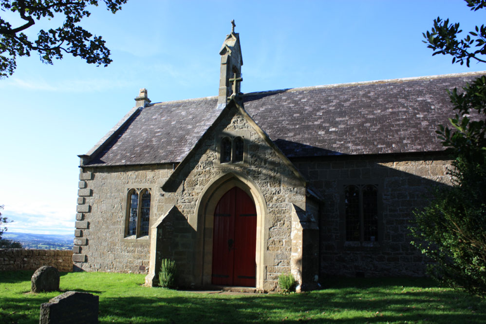 Church on the of the Battle of Heavenfield