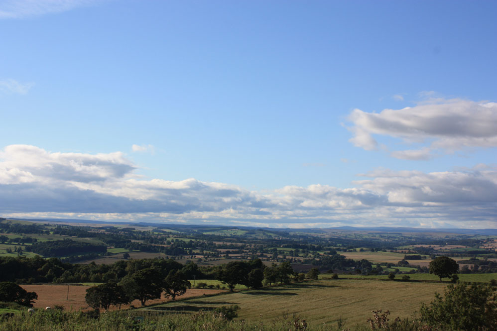View from the Battle of Heavenfield site