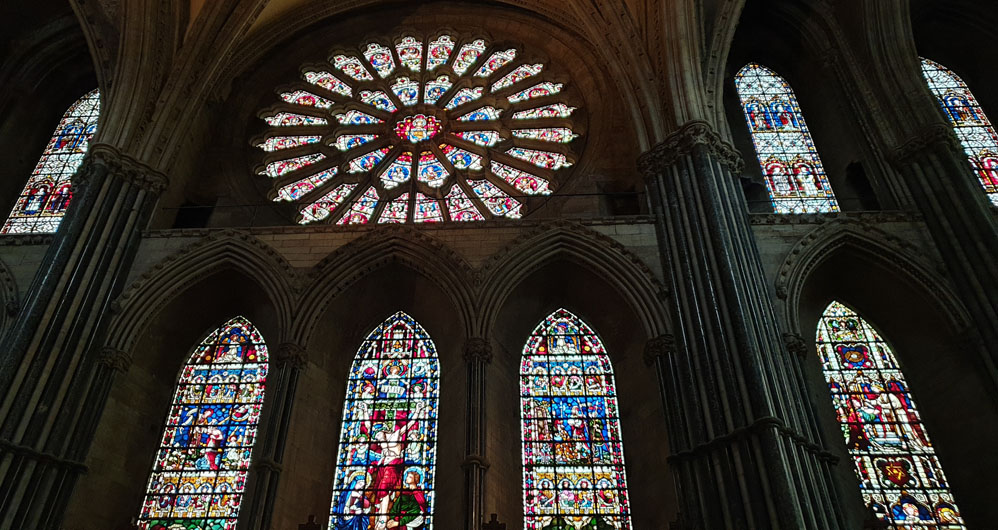 Stained Glass, Chapel of the Nine Altars, Durham Cathedral