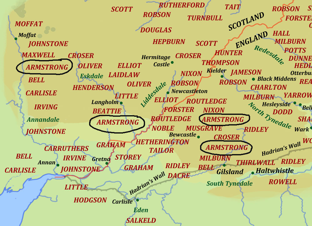 Armstrong Border Reivers