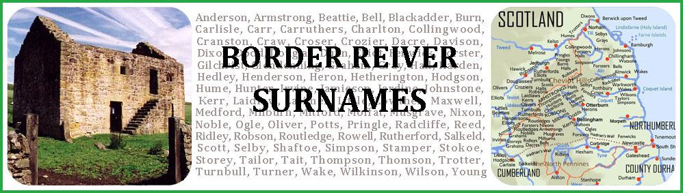 Border Reiver Surnames
