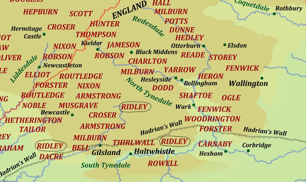Ridley : Border Reiver surname