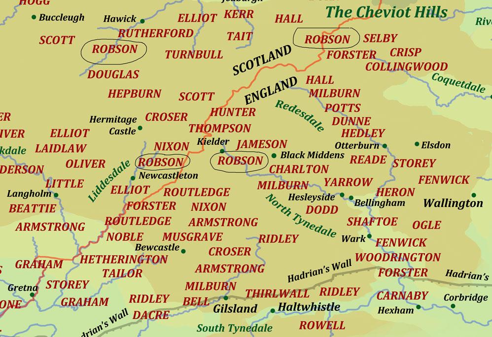 Robson : Border Reiver surname